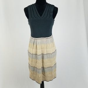 Anthro Knitted & Knotted women S wool blend dress